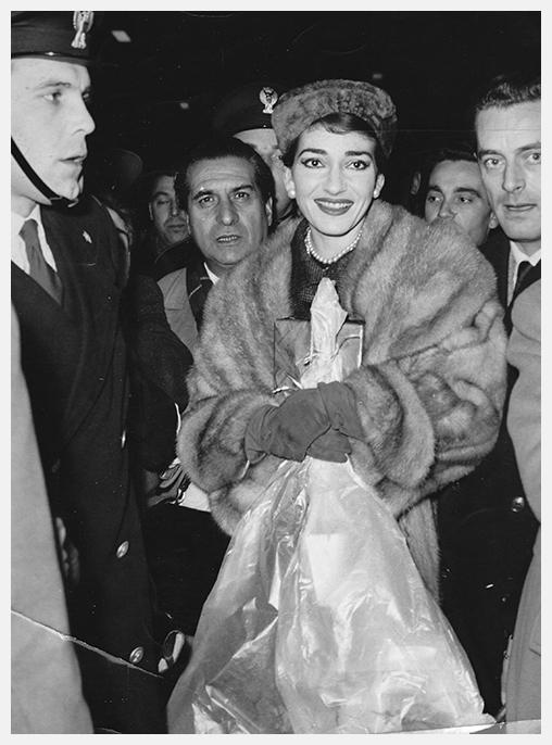 Maria Callas and Tullio Silva