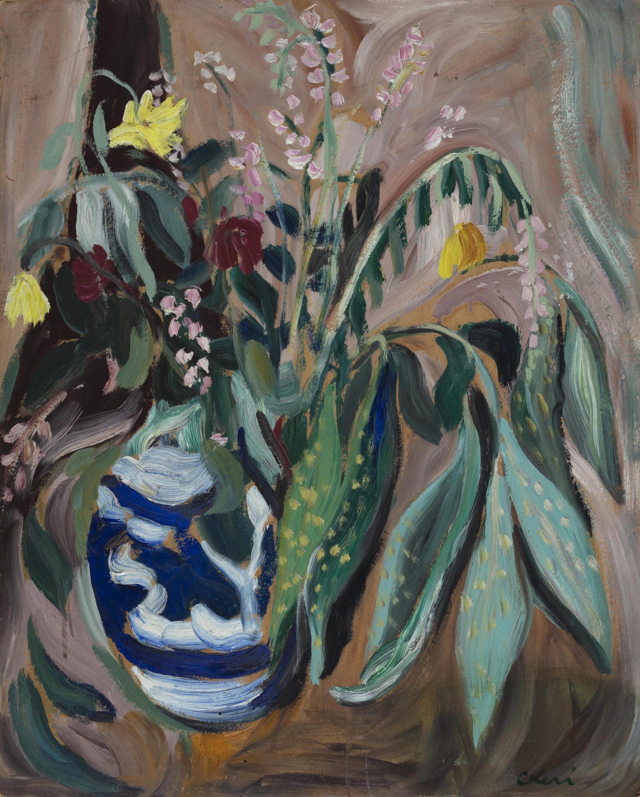Vaso di fiori 1933