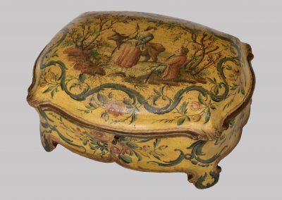 Venetian lacquered casket