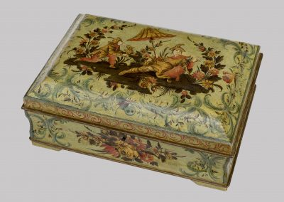 Venetian lacquered box